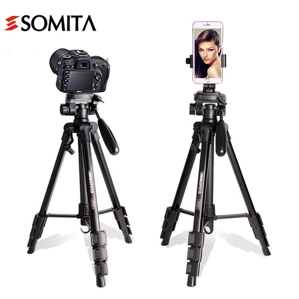 2017 New Brand Professional Portable Aluminum Camera Tripod With Ball Head Stability Travel DSLR Hot Sale Tripods wt3117