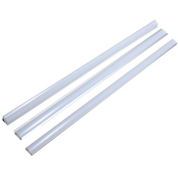 Lamp Cover 30/50cm U/V/YW Style Aluminium Milk Cover Rigid Channel Holder For LED Strip Bar Light Under Cabinet Cupboard Lamp