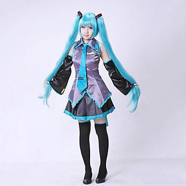 Hatsune famille avenir VOCALOID cosplay costume anime costume de perruque de mode spot nouvelles femmes costume cosplay mignon