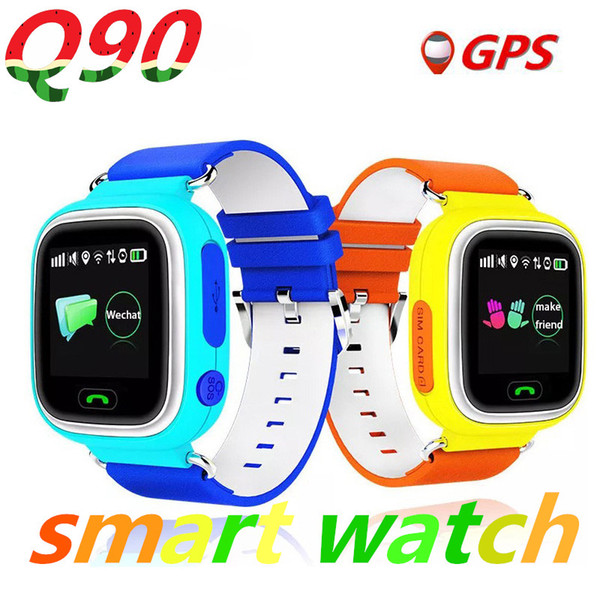 best selling Q90 GPS smart watch baby watch with Wifi touch screen SOS Call Location DeviceTracker for Kid Safe Anti-Lost Monitor