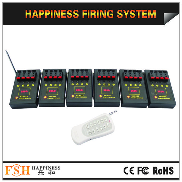 24 channels, 150M Wireless Remote Control Fireworks Firing System (DB04r-24)