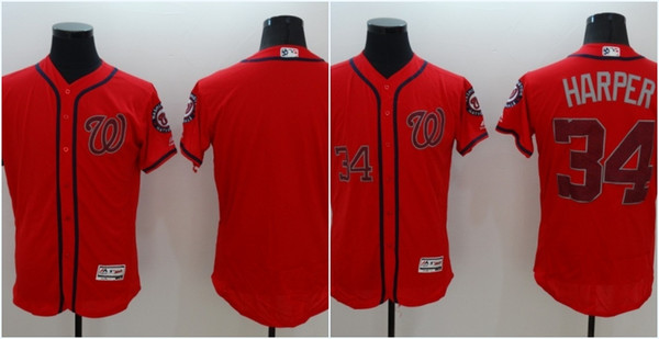 quality design d0893 ae2d0 nationals 34 bryce harper grey flexbase authentic collection ...