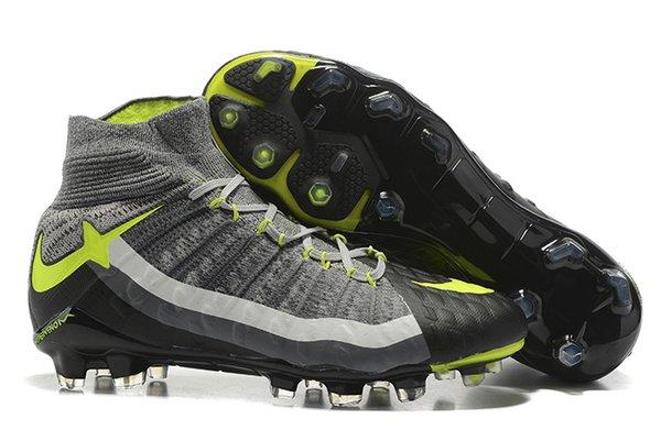 Firm-Ground Football Boot|Men\u0027s Teenager\u0027s Hypervenom Phantom III Dynamic  Fit Hgih Top Soccer