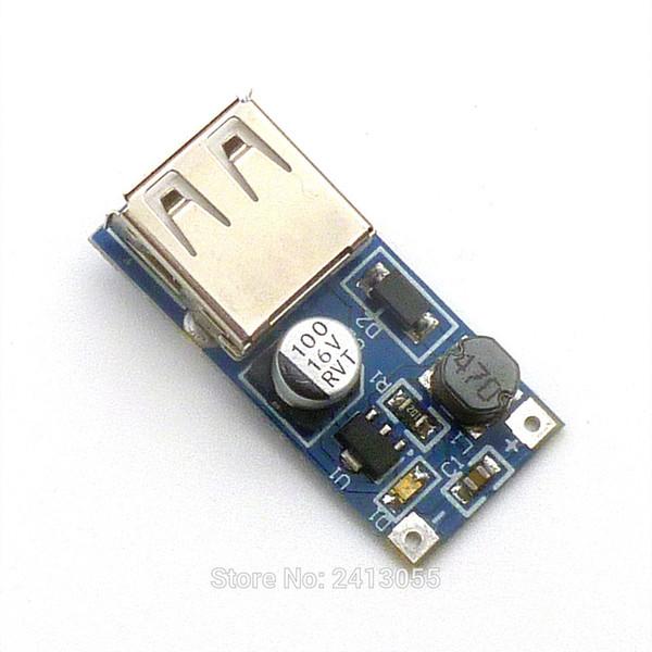 0.9 V-5V к 5V DC-DC USB преобразователь напряжения шаг вверх модуль питания Booster