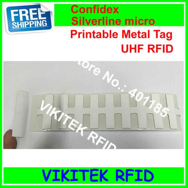 Wholesale Confidex Silverline Micro UHF RFID Printable Metal