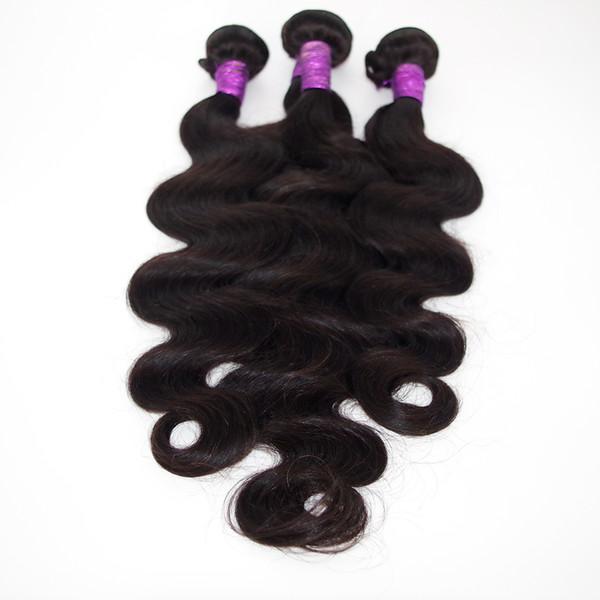 Großhandel Reine Brasilianische Haarwebart Körperwelle UNVERGESSENE Remy Haareinschlagfäden Günstige Indische Malaysische Peruanisches Menschliches Haar Extensions