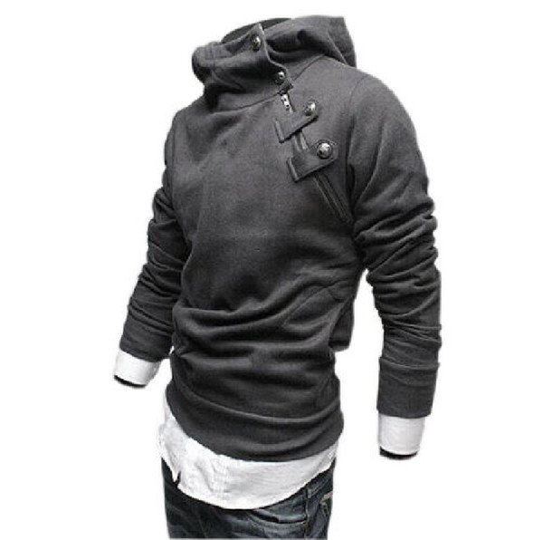 Wholesale-Hoodies Men Moleton Assassins Creed Sportswear Man Hoody Coat Brand Jaquetas Masculina Fleece Hood Cardigan Tracksuit Sweatshirt