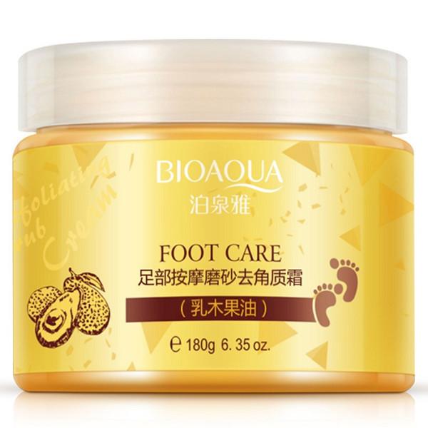 best selling 24pcs BIOAQUA 24K GOLD Shea Buttermassage Cream Peeling Renewal Mask Baby Foot Skin Smooth Care Cream Exfoliating Foot Mask