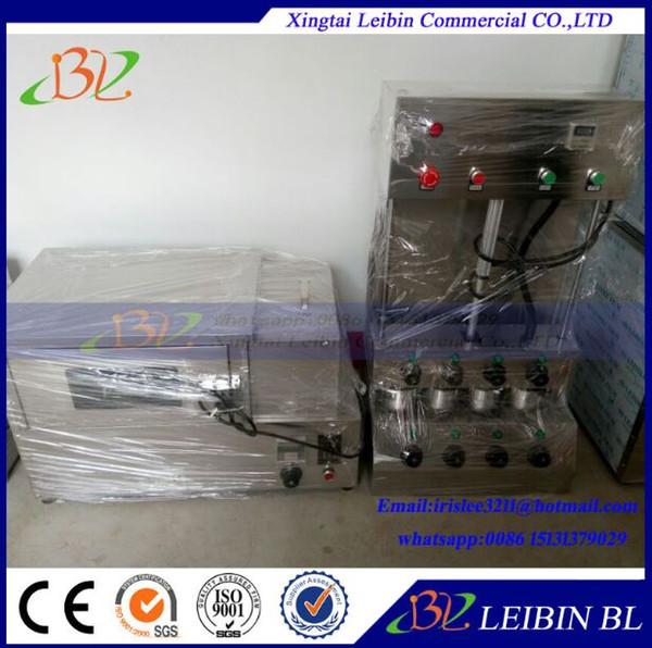 Máquina de cone de pizza 220v e forno