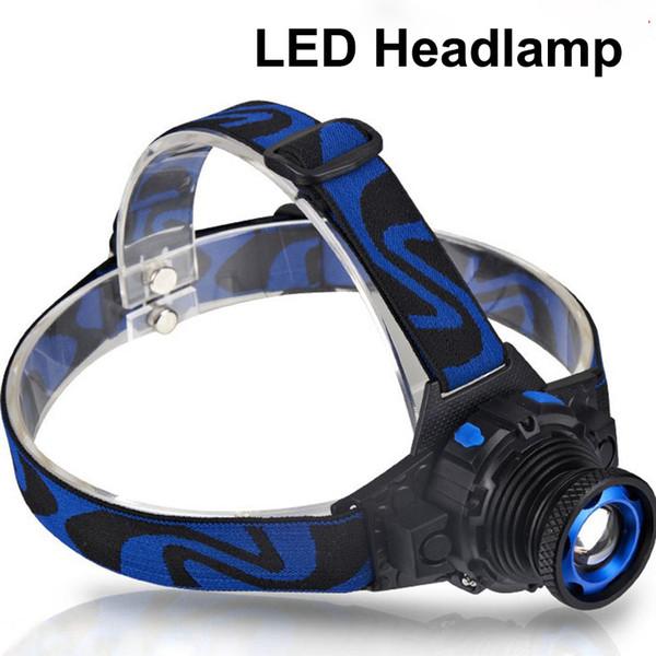 LED-Scheinwerfer 1 CREE Taschenlampe einstellbar 90 Grad Scheinwerfer Zoomable Licht für Jagd Camping Klettern mit Kleinpaket DHL geben OTH341 frei