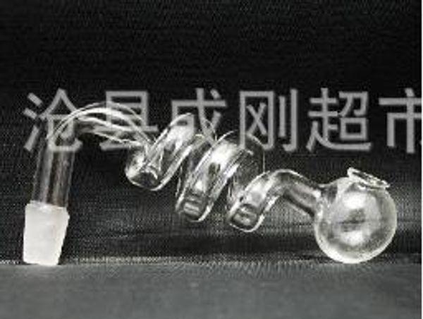 Assadeira em forma de vidro espiral (50pcs)