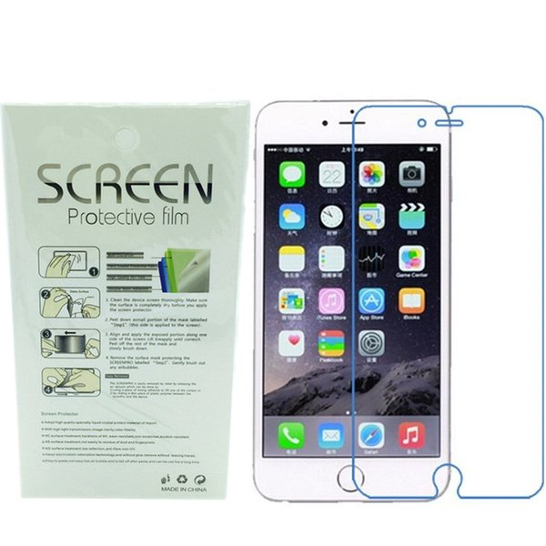 Matte Ultra-thin Frosted Cell phone Protectors Films Anti-Glare For iPhone 7 6s plus 5S SE 5C Dustproof Screen Front Back Protective film
