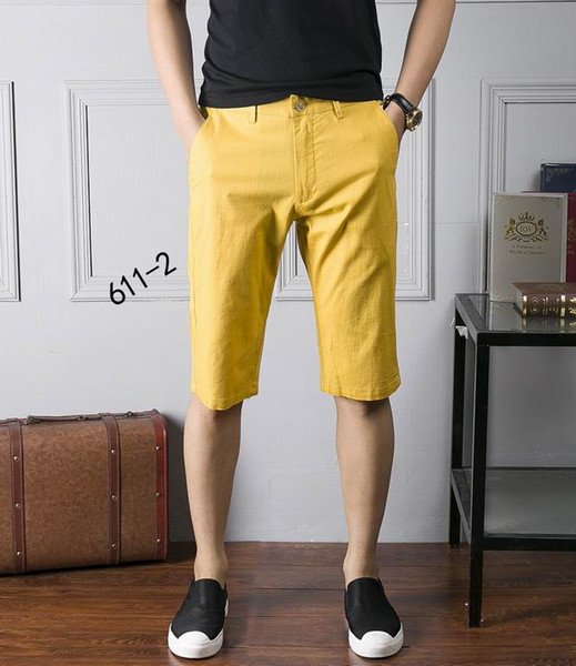 2017 2017 Men'S Luxury Brand Sweartshorts Men Fashion Knee Length ...
