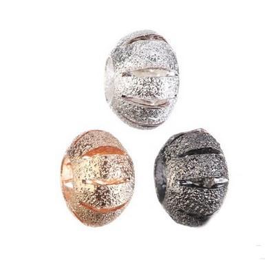 Großhandels30pc hohle Kürbis-Korn-Charme-Silber-europäische Charme-Korn-passender Pandora-Armband-Schlangen-Ketten-Art- und Weiseeuropäischer DIY Schmucksachen