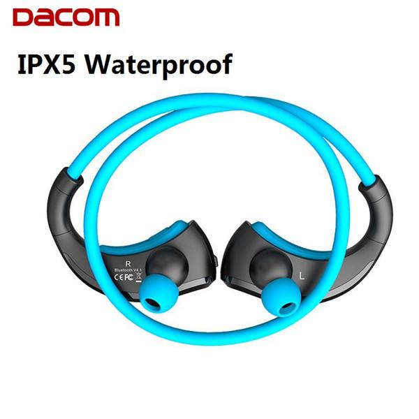 DACOM Armor IPX5 Cuffie Bluetooth impermeabili Cuffie senza fili Sport da corsa Cuffie Ear-hook con microfono 1pc / lt