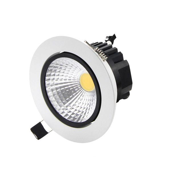 vendita all'ingrosso Dimmable LED da incasso a soffitto 6w 9w 12w 15w LED COB Downlight Spot da incasso lampada leggera 110 V o 220 V