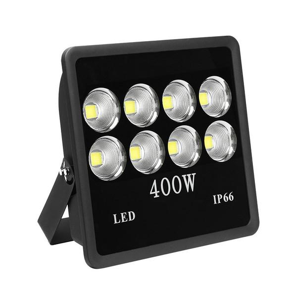 400 watt Super Bright Outdoor High Power LED Flood Light with Fixture Daylight White IP66 Waterproof 35000lum 85V-265V AC