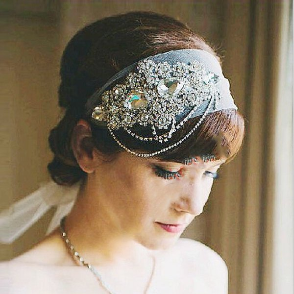 Bohemian Boho Bridal Headbands Crystals 2017 Bling Bling Luxury High Quality Wedding Hairbands for Brides Junior Bridesmaids Hand Made