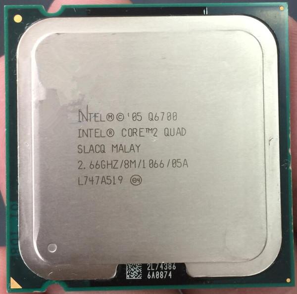 Original verwendet CPU Core 2 Quad Q6700 Prozessor 2,66 GHz 8 MB Quad-Core FSB 1066 Desktop LGA 775 CPU (Arbeiten 100% versandkostenfrei)