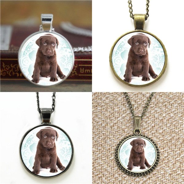 10pcs Dogs Cute Puppies inspired Glass Photo Necklace keyring bookmark cufflink earring bracelet