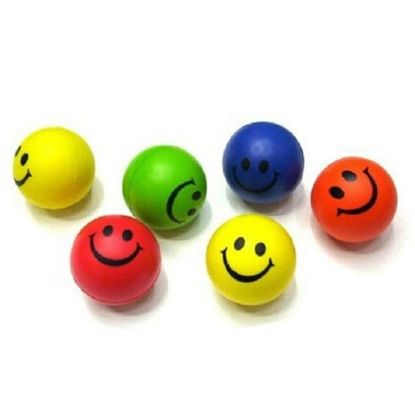 Lovely smile face relaxable ball pet toy