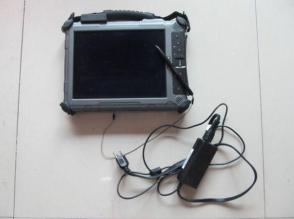Computer diagnostico con PC Xplore Ix104 C5 per computer industriale robusto di alta qualità con RAM I7CU e 4 GB con garanzia con SSD da 240 GB