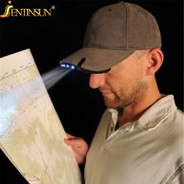 Оптово-5 Светодиодный светильник Cap Cap-On Hat Cap Светильник Caplight Out Door Рыбалка Кемпинг Охота Фара головного света Cap Hat Свет супер яркий