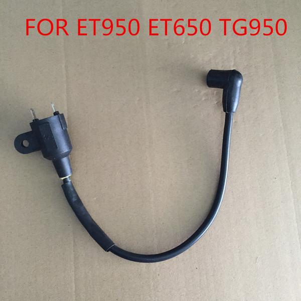 ET950 ET650 Ignition coil for Generator TG950 650 W 950 W 1000 W 1KW 2 stroke 1E45 Generator spare parts