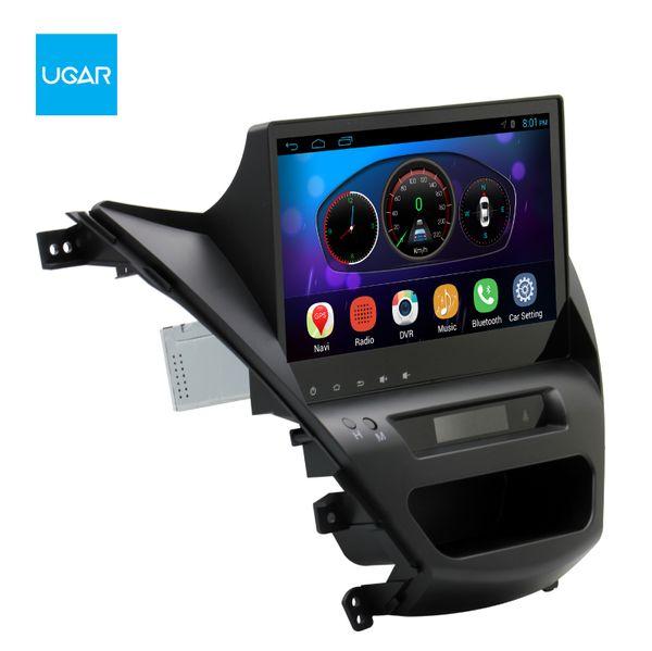 10,2 pouces Android 6.0 navigation GPS GPS Quad Core 1024 * 600 pour Hyundai Elantra 2011-2015 Lecteur Multimédia Radio Wifi