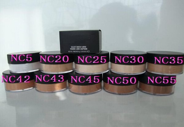 FREE SHIPPING hot sell good quality Lowest Best-Selling good sale Newest Makeup LOOSE POWDER & FREE GIFT