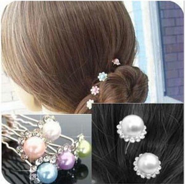 Charm Bridal Hair Accessories Faux Pearl U Pins Bridal Head Pieces Wedding Hair Accessories Bridal Hair Accessories