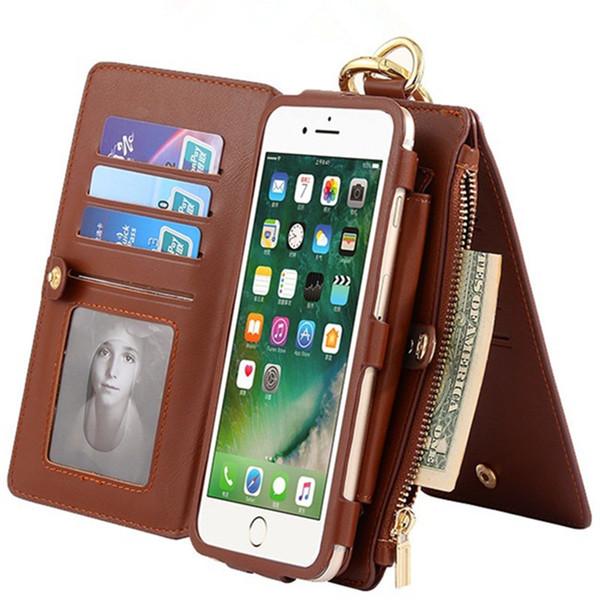 2017 hot phone cases funktionale phone cases für iphone 5 / 5s / 5se / 6 plus / 6s plus / 6 / 6s iphone 7/7 plus brieftasche hohe qualität weihnachtsgeschenk.