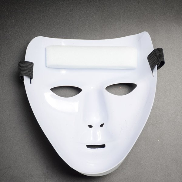 High quality hot sell section Eco-friendly white duo dancers party performances ghost step masks wholesale free shipping