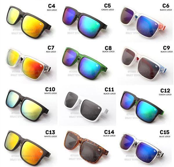 Nova marca designer spied ken bloco elmo óculos de sol da moda ostenta óculos de sol oculos de sol óculos de sol eyeswearr 21 cores unisex óculos