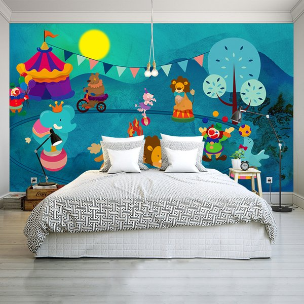Customize any size Cartoon 3d wallpapers for wall for kitchen Living Room/Bedroom TV Background wall Home Decor wall mural