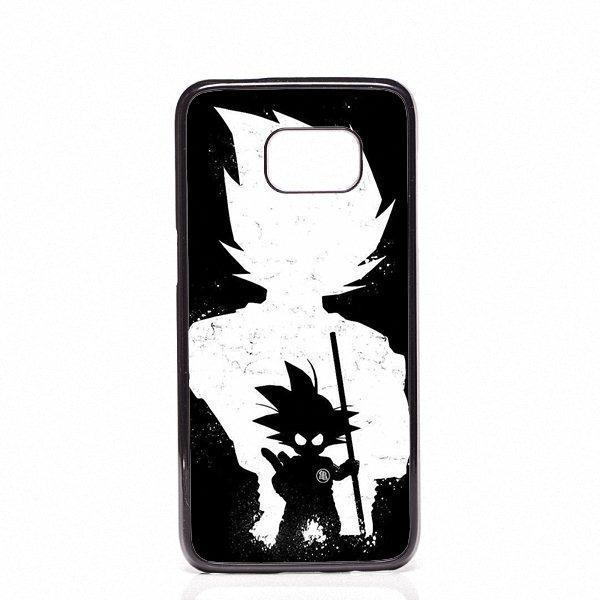DRAGON BALL Z Super Saiyan God Son Goku coperture del telefono gusci Custodie in plastica rigida per Samsung Galaxy S4 S5 S6 S8 bordo S8 S8 Plus