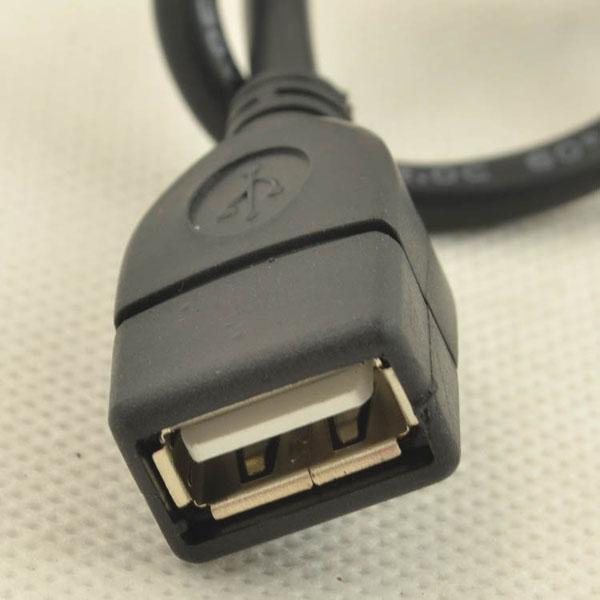 Plugue de alta Qualidade masculino micro 5pin para feminino USB OTG host cabo de dados para GS2 GS II I9100 MOTO XOOM TG01 Frete Grátis HKPAM CPAM 1000 ps / lote