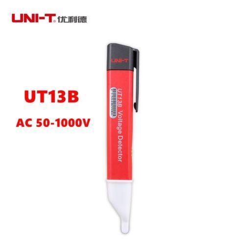 UNI-T UT13B AC50-1000V Voltage Detector Pen Flashing LED Light Voltmeter Tester