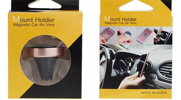TOP Universal Cell Phone Mount Holder Magnetic Car Air Vent Accessories Mixed Color Best quality cell phone mounts holders accessories