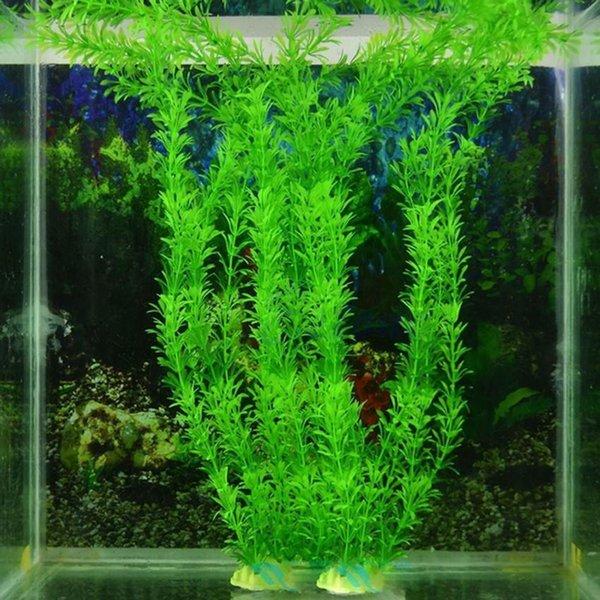 30 cm Sous-marine Artificielle Plante Aquatique Ornements Aquarium Fish Tank Vert Eau Herbe Décor Paysage Décoration