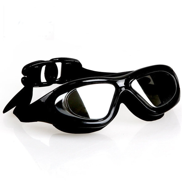 Gafas de galvanoplastia liso a prueba de agua anti - vaho anti - ultravioleta adulto adulto de alta definición para hombres y mujeres en general cuadro natación gl