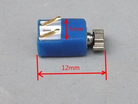 Konektörü Ile MIcro Küçük Doğrusal Vibratör Motor 5mm x 12mm 0512 Modeli Serisi CellPhone Sextoy Için Titreşimli Çağrı Motor