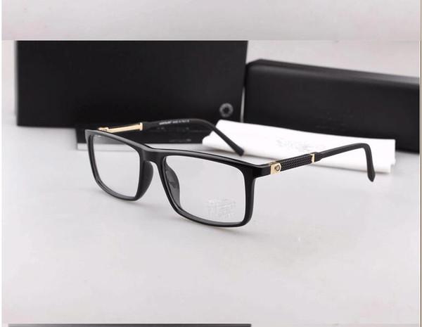 top popular Fashion Metal Decoration Eyewear Brand Designer Luxury Glasses Frame Myopia Eyeglasses Frame Clear Lens MB0541 2019