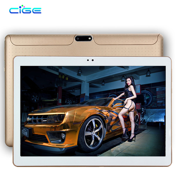 """Wholesale- CiGe 10.1 inch 3G 4G Lte Tablet PC Octa Core 4GB RAM 64GB ROM Dual SIM Card Android 5.1 GPS 1280*800 IPS Tablets 10"""""""