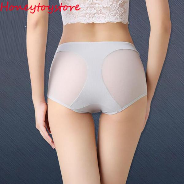 New Fashion 2017 Women's Panties Transparent Underwear Women Net yarn Soft Briefs Sexy Lingerie high Waist panties dhl shipping