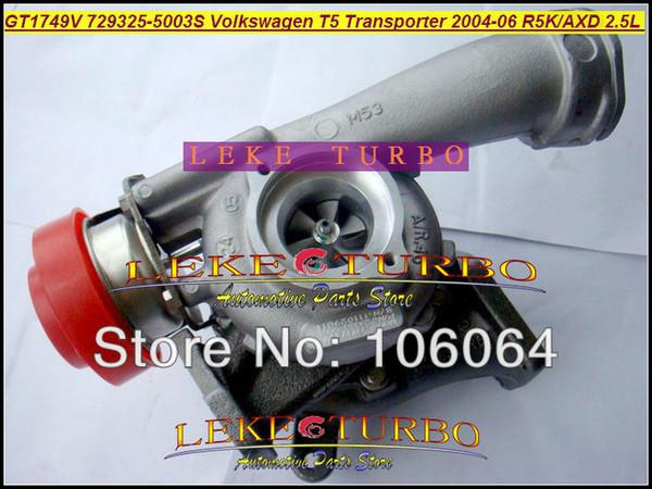 GT1749V 729325 729325-5003S 729325-5002S 070145701K Turbo für Volkswagen VW T5 Bus Transporter 2004-2006 R5K AXD Euro3 2.5L TDI
