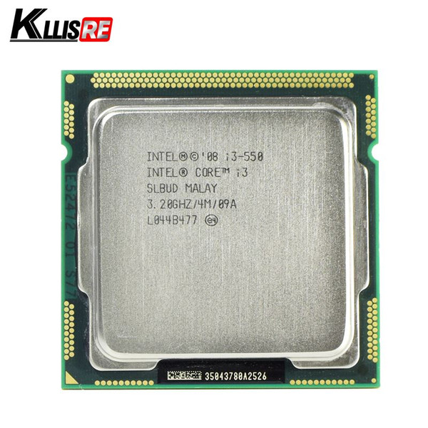 Original Intel Core i3 550 Processor 3.2GHz 4MB Cache LGA1156 Desktop CPU