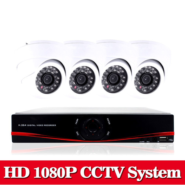 NINI Home HD 1080P HDMI 8CH 1080P Security AHD DVR CCTV Kit AHD 8 Channel Dome CCTV Kits Security Camera System no HDD