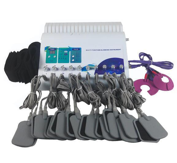 Elettrodi del rilievo di riscaldamento infrarosso lontano di 2 in 1 Elettrodi russi dell'onda del muscolo elettrico dell'onda dell'elettrostimolatore EMS di dimagramento