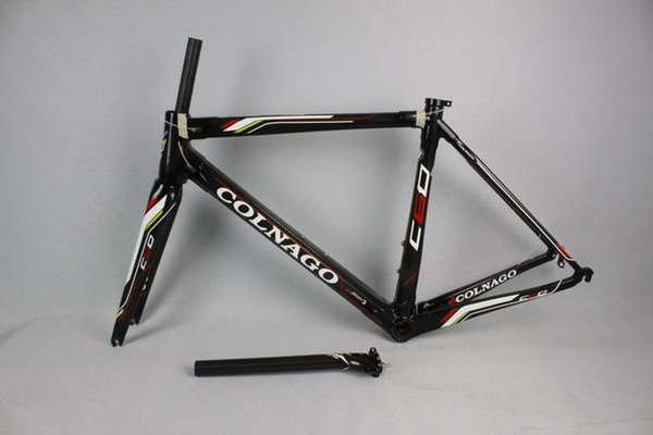 T1000 full carbon fiber bicycle frame with free shipping more than 10 Colors Choice 2017 Carbon Frame Road Bike